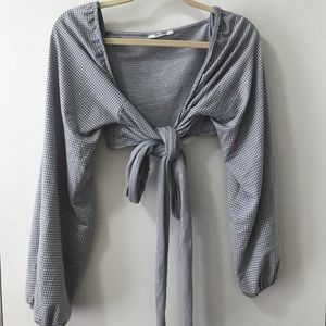 Zara Wrap Crop Top